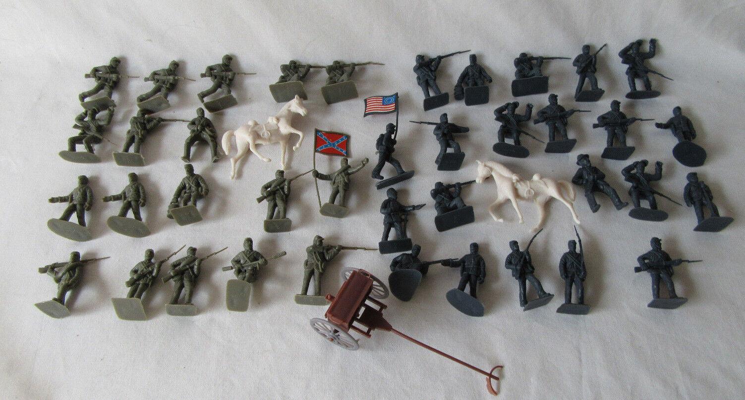 Viele 42 spielzeug spielzeug spielzeug soldaten b  rgerkrieg im norden und s  den - reihe 4304d8