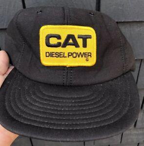 253169bef73 vtg CAT DIESEL POWER snapback trucker hat NEW NWOT unworn mesh foam ...