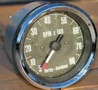 Pn 92051-70 Original Harley Tachometer 1970-1973 Sportster & Super Glide 406