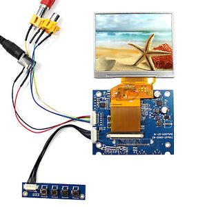 "2AV LCD Controller Board 3.5"" 320x240 LQ035NC111 320x240 écran LCD"