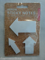I Arrow Sticky Post It Notes 50 Sheets X 3 Pads Office Supply Coworker Boss Gift