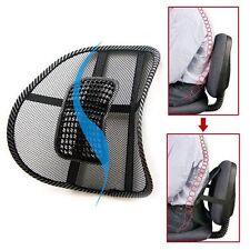 Hot Mesh Lumbar Massage Back Brace Support Office Home Car Seat Chair Cushion