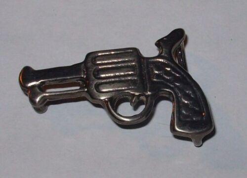Fibbia cintura 25 mm 5x3 cm pistola Buckle WESTERN COWBOY chiusura rivoltella