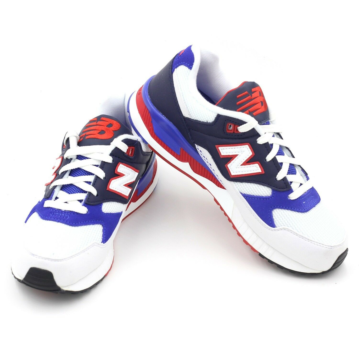 New Shoes Balance M530 Trainers Running Athletic Shoes New Size 5 M530BOC White/Blue/Red 9b226b