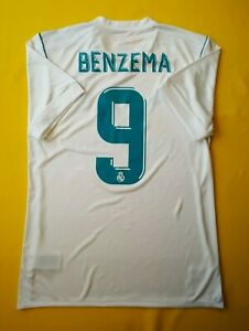 515ab8687 5+ 5 Benzema Real Madrid jersey small 2017 2018 home shirt soccer ...