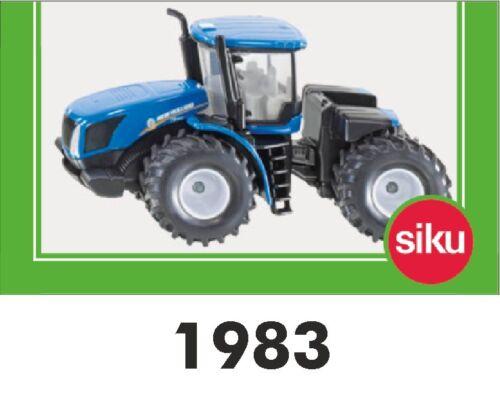 Siku 1983 New Holland t9 560 quiebro manillar tractor agricultura auto Farmer 1:50
