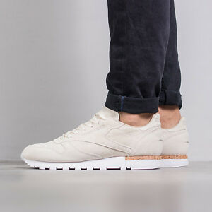 b983f271687 MEN S SHOES SNEAKERS REEBOK CLASSIC LEATHER LST NEUTRALS PACK ...