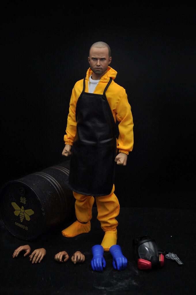 Eleven 1/6 escala Jessie Pinkman Breaking Bad acción figura Box set