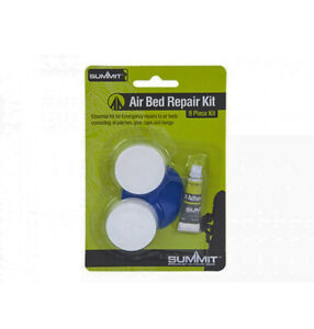 AIRBED-REPAIR-KIT-NEW-9-Piece-kit-with-Patches-Glue-Bungs-and-Caps