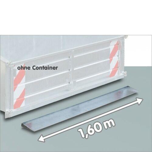 Schürfkante Schürfleiste Schürfschiene 160 cm für Heckcontainer Heckmulde
