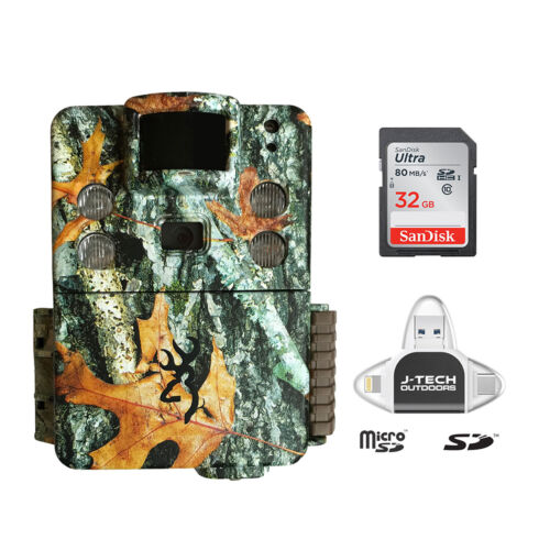 Browning Strike Force PRO X Trail Game Cam 32GB Card Phone ReaderBTC5HDPX