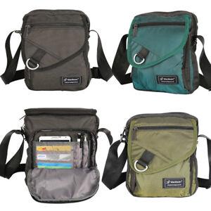 Image is loading Men-Women-Crossbody-Bag-Multiple-Pockets-Shoulder-Bag- 5c4c4c0b17901