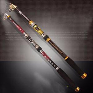 Fishing-Carbon-Fiber-Rod-Pole-Spinning-Telescopic-Travel-Sea-Portable-Ultralight