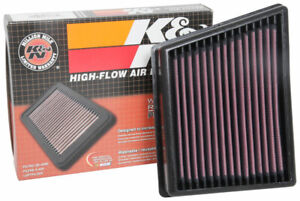 33-3117 K&N Air Filter fits FORD FIESTA MK7 1.0 1.1 1.5 ST Ecosport Tourneo 17-