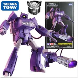 Transformers-Masterpiece-MP-29-Shockwave-G1-Destron-Laserwave-Action-Figures-Toy