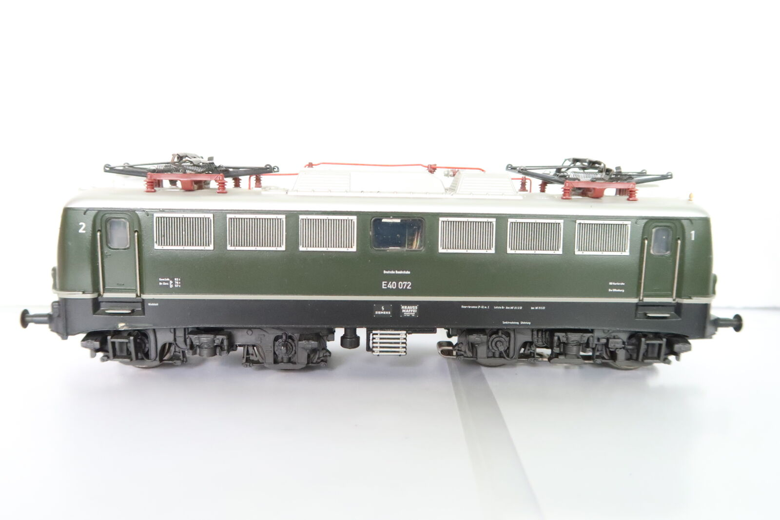 Digital marklin HO AC 29855 E-Lok E-Lok E-Lok BR e40 072 DB verde (da 47-75r2 0) a67ead
