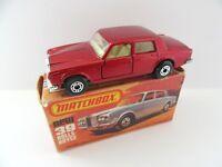 Matchbox Superfast 39b Rolls Royce - Metallic Red - Mint/Boxed