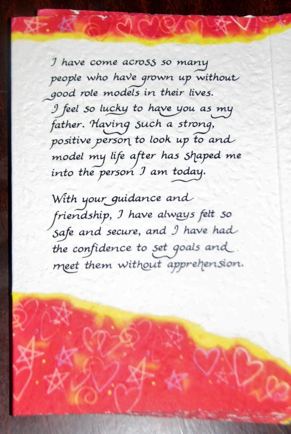 """the Man I Admire/"""" B2GO SALE Blue Mountain Arts Greeting Card /""""To My Father"""