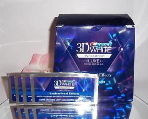 Crest White Luxe Professional Effects Whitestrips Teeth Whitening