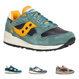 529bf406bbfd Saucony Shadow 5000 Vintage Suede Mesh Lace-Up Low-top Sneakers Mens ...