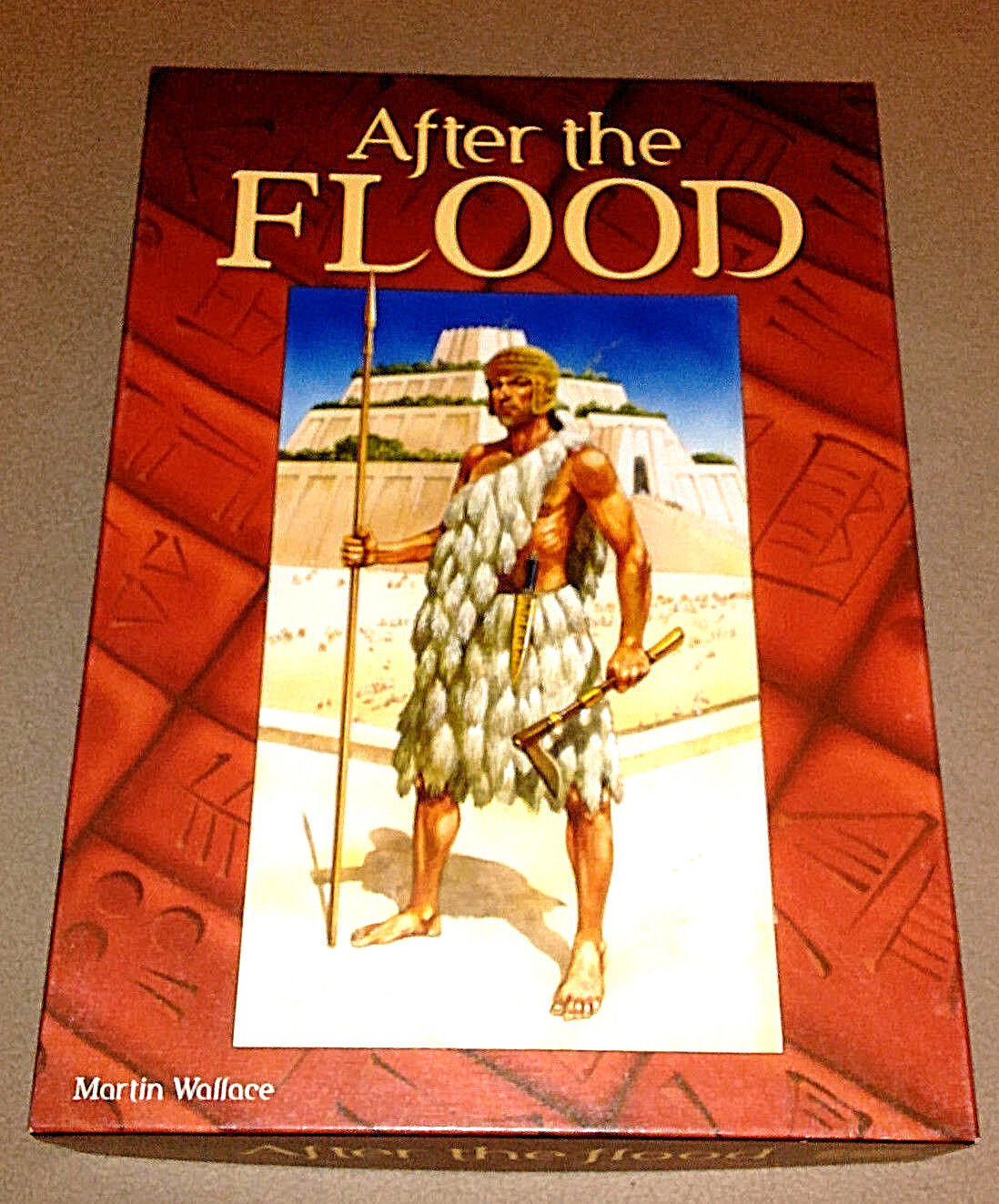 After the Flood -  69 OF 1500 - - - Signed Martin Wallace UNPLAYED-VERIFIED COMPLETE b0b46a