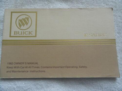 Anleitungen & Handbcher Sonstige 1982 Buick Le Sabre Owners ...
