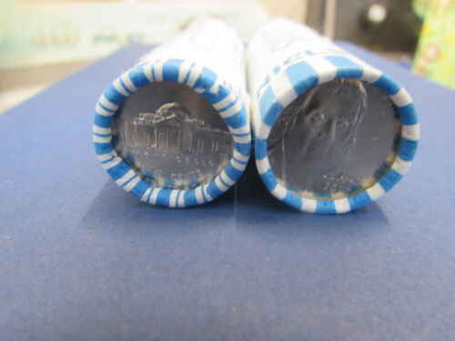 2012 P D Jefferson Nickel BU Brilliant Uncirculated 2 Coin Set From Rolls
