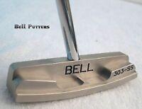Bell Putters-non Offset Golf Putter 360 Rh Face Balanced Center Shaft Cnc Milled