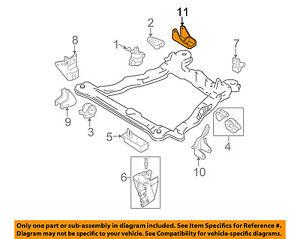 New Engine Manual Trans Mount Kit for Hyundai Elantra 01-06 Tiburon 03-04 2.0L