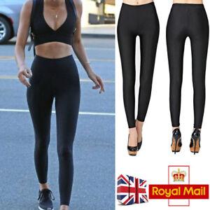5ebf21827 Image is loading UK-Women-Leggings-Seamless-Shapewear-Leggings -Control-Slimming-
