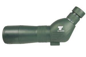 Ts optics zoom spektiv 15 45 x 60 für sportschützen zoomspektiv