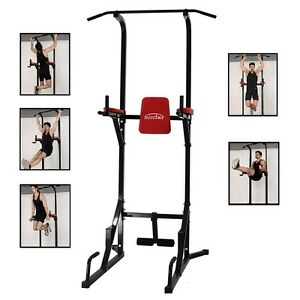 Gyms-Fitness-Pro-Mulit-Home-Power-Tower-Dip-AB-Pull-Chin-Up-Bar-Workout-Station