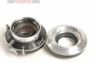 Linhof Carl Zeiss Tessar 150mm f4.5 Lens. Very rare. Graded: EXC [#5076]