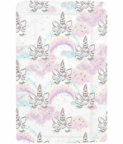 Can Be Name Personalised Nursery Grade Baby Changing Mat Sleepy Unicorns