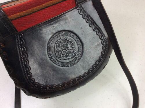 God Umhngetasche Tiki Aus Aztec Leder 6wxSgA