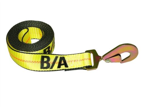 Qty 38-200-L 14/' Replacement Strap Rollback 2 Flatbed Tie Down w// Snap Hook