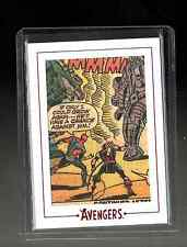 Marvel The Avengers  Silver Age  Archive Cuts AV51 card 5/190