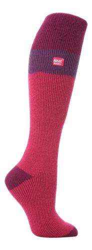Womens Long Over the Calf Warm Winter Cushioned Thermal Ski Socks Heat Holders