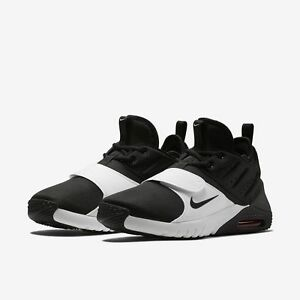 new styles db6c5 88dca Image is loading Nike-Air-Max-Trainer-1-Black-White-Retro-