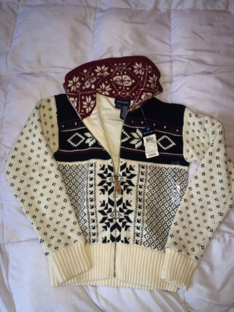 aedc0a466 Polo Ralph Lauren Snowflake Sweater XL 16 Girls Retail for sale ...
