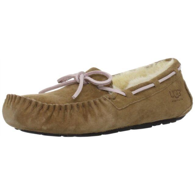 538e694f123 UGG Australia Dakota Moccasin Sheepskin Slippers Shoes Tobacco 7