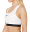 Nike-Pro-Classic-Padded-Medium-Support-Sports-Bra-White-Women-039-s-Size-S-60926 thumbnail 2