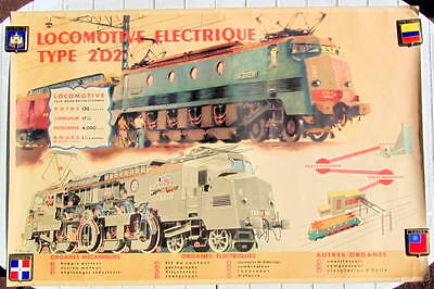 1948 2d2 Electric Locomotive Drawing By Brenet And Bouvry Sncf