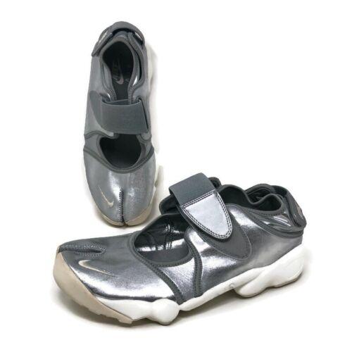 Nike Air Rift Tabi Split Toe 454441-002 Silver Met