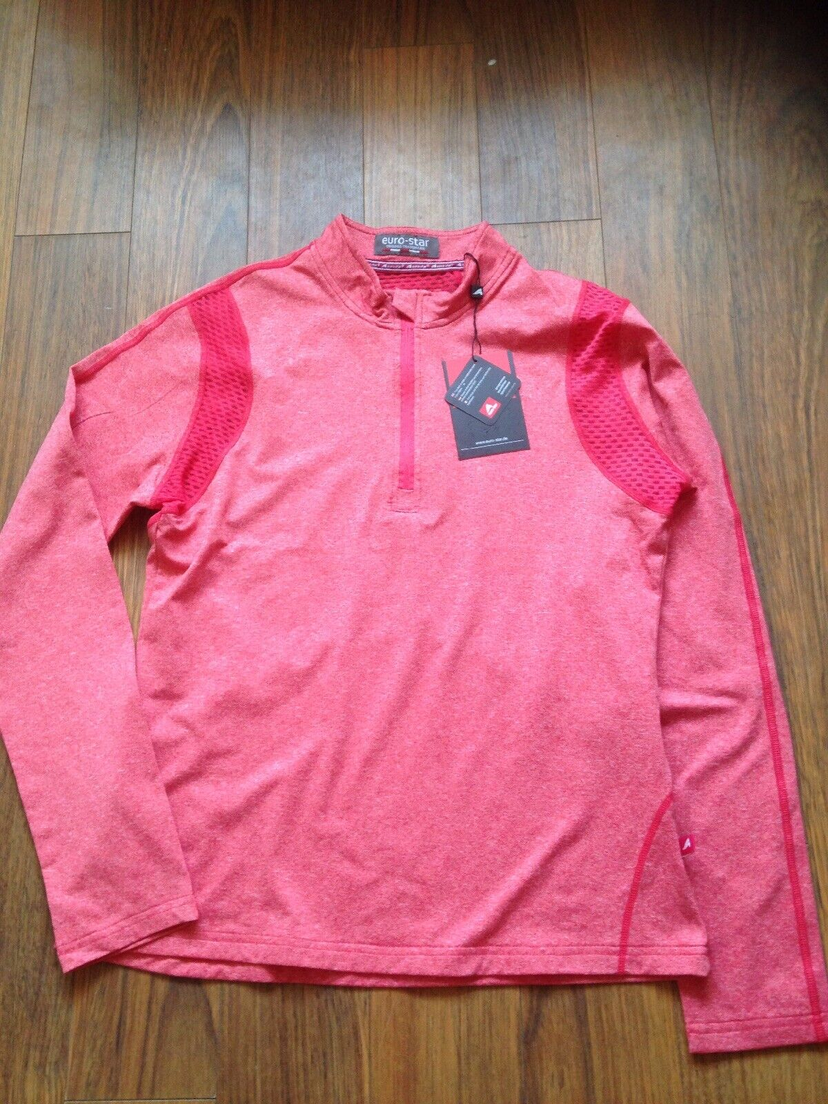 EURO-STAR Equestrian Riding POLINA Technical SHIRT Top Base Layer MEDIUM New