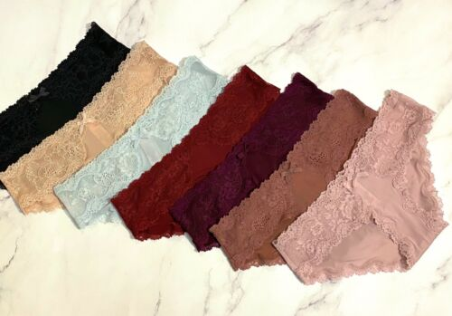 VICTORIAS SECRET Dream Angels Smooth Supersoft Lace Hipkini Panty XS