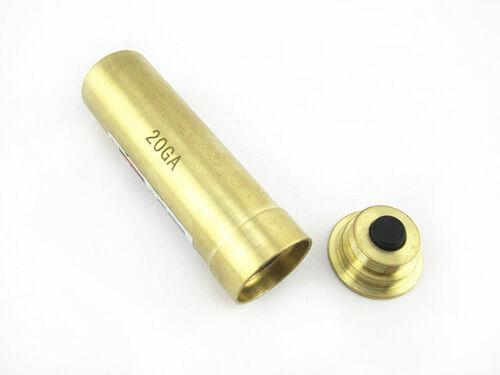 Tactical Bore Sighter 8MM//9MM//12GA// 20GA//7.62X39// CAL.222 REM Red Laser Sight