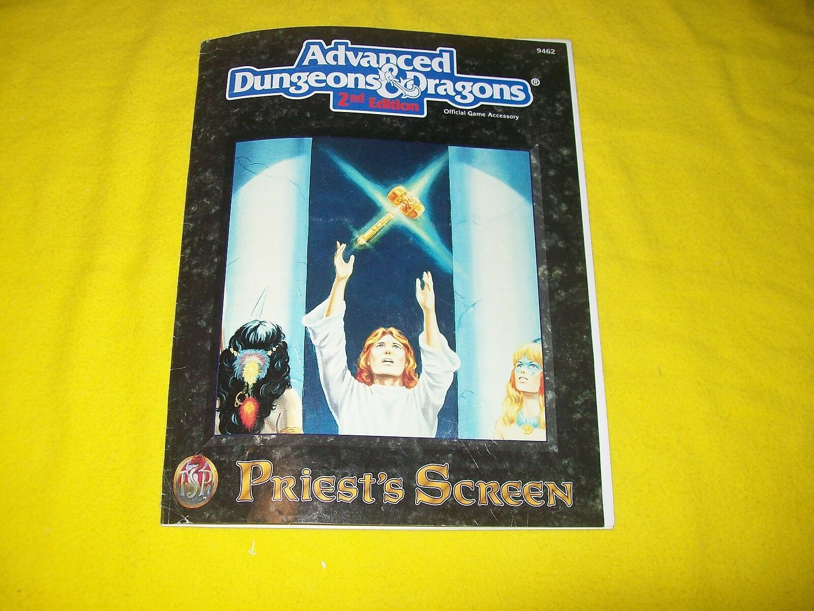 PRIEST'S SCREEN DUNGEONS & DRAGONS AD&D 2ND EDITION TSR 9462 - 2