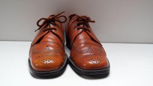 uomo Cognac Style da Budapest stringate Vintage Up Scarpe Scarpe Lace True tUwYa6