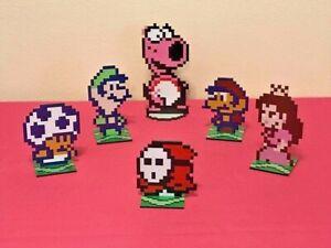 Details About Super Mario Bros 2 Sprites Nintendo Video Game Inspired Pixel Art Choose One